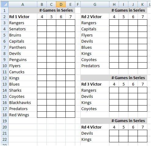 nhl playoff pool