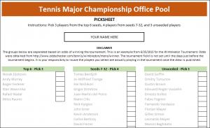 tennis major championship excel template screenshot 1